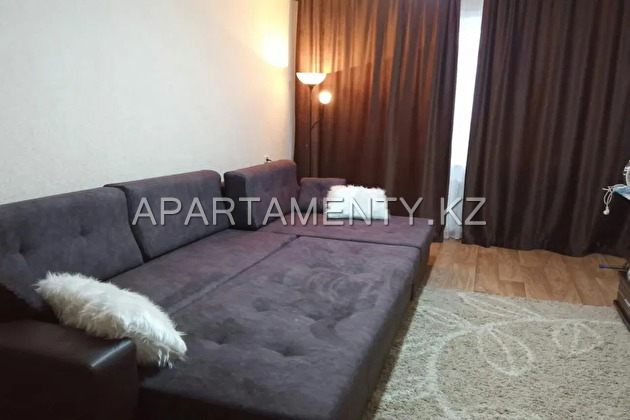 1-room apartment for daily rent in Kokshetau