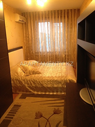 2-room apartment for daily rent in Aktobe