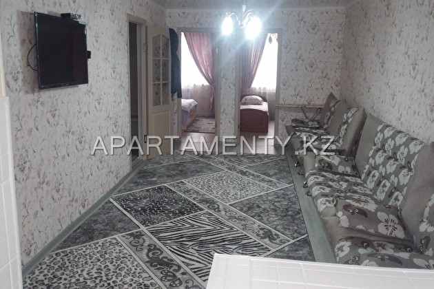 3-room apartment for daily rent in the center