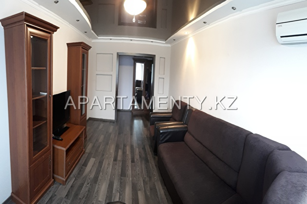 3-room apartment for daily rent in Pavlodar