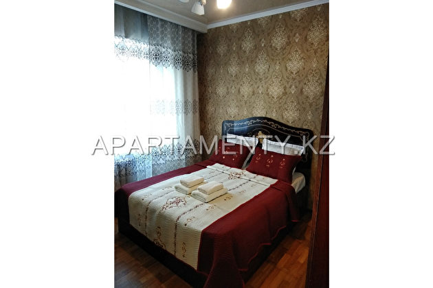 2-room apartment for daily rent in the center