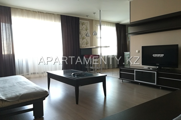 1-room apartment for daily rent in the city center
