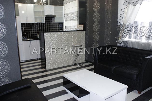 2-room luxury apartments in the center of Karagand