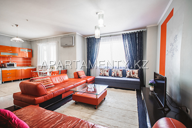 2-room apartments for rent in Almaty