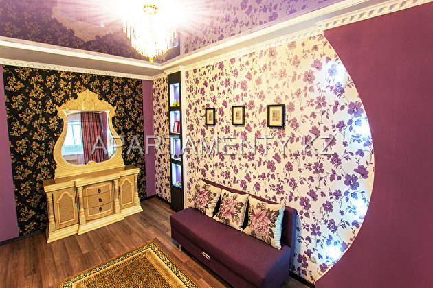 2-room apartment in the center of Aktobe Связанные
