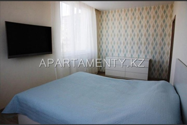 3-room apartment for daily rent in Aktobe