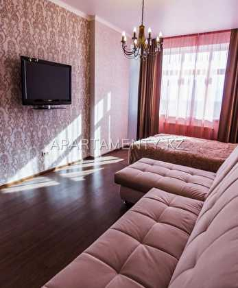 1-room apartment for a day in Aktobe