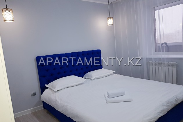 2-room apartment for daily rent in Kokshetau
