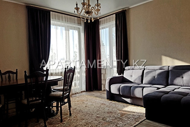 2-room apartment in the center of Kostanay