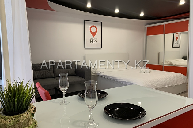 1-room apartment in Pavlodar