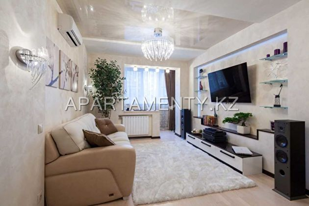 2-room apartment for daily rent, Aktobe