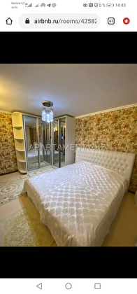 2-room apartments for daily rent, Aktobe
