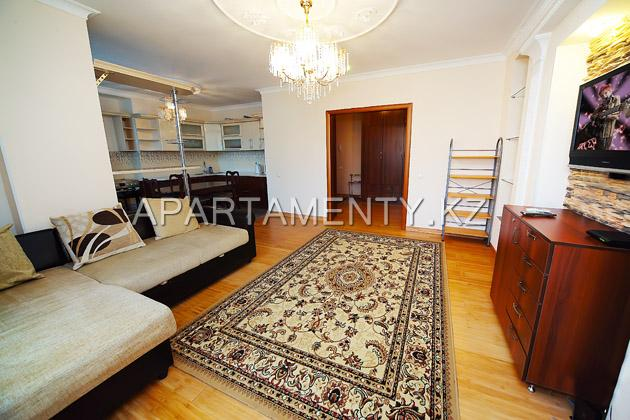 2-room apartment daily rent Astana