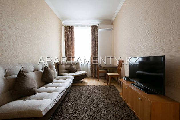 Двухкомнатные апартаменты посуточно, Алматы