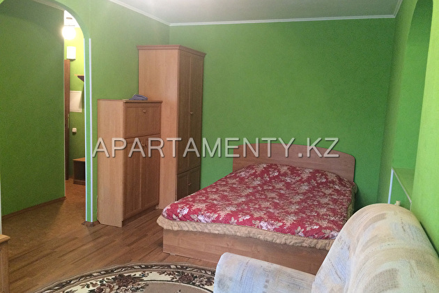 1-room apartment for daily rent, al-Farabi street