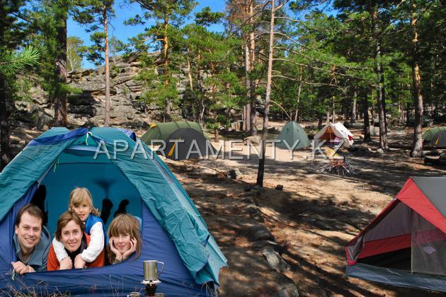 Палаточный лагерь. Боровое- Щучинск