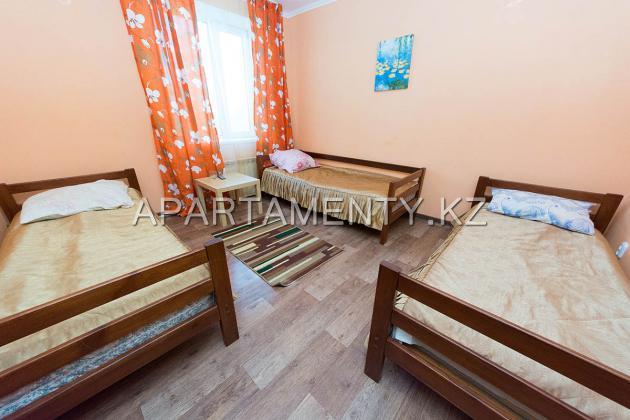 Трехместный номер с раздельными кроватями
