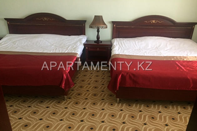 Люкс номер с двумя 2-спальными кроватями