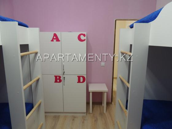 Комната с 4 кроватями