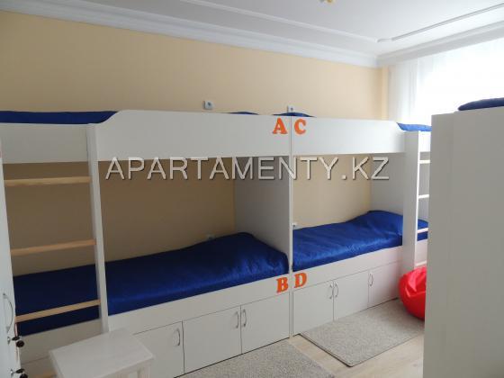 Комната с 6 кроватями