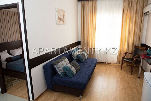 Junior one-bedroom apartment (balcony with sea view)