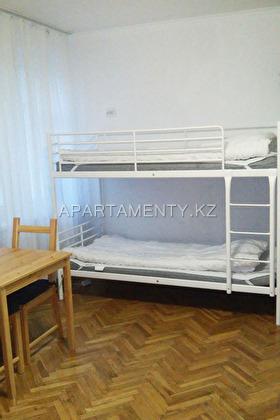 Спальные койко места в общей 6-местной комнате