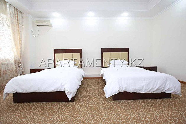 Deluxe with two beds 100 * 200