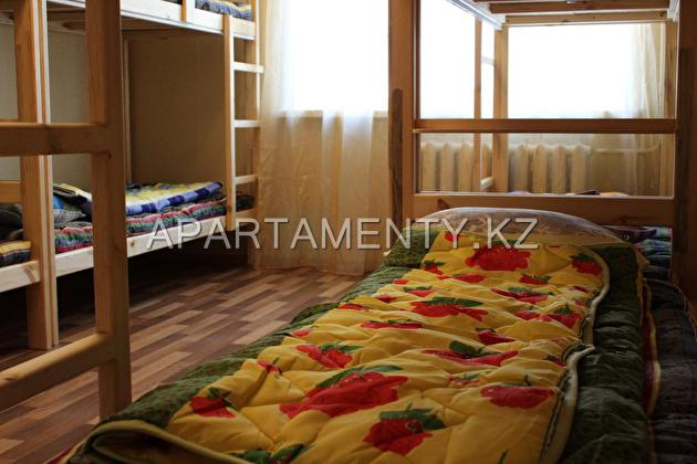 Bed in a 10-Bed Dormitory Room