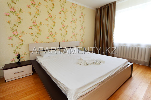 1-bedroom apartment, double bed