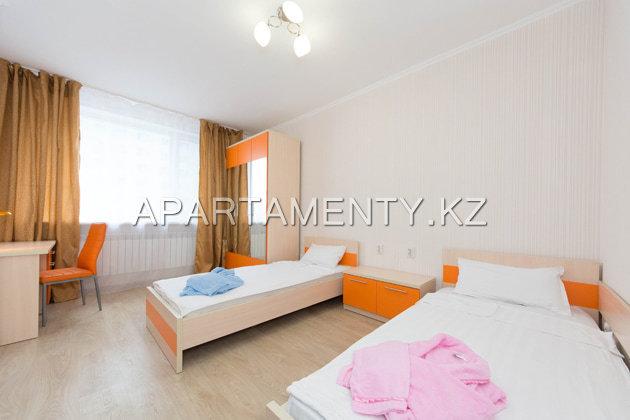 2.5-комн. апартаменты с тремя кроватями