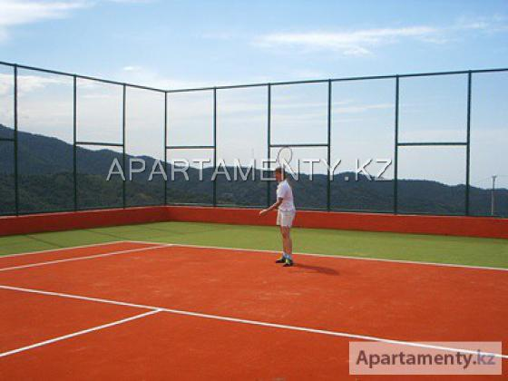 Теннис, футбол, воллейбол