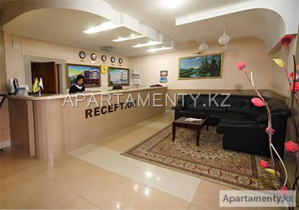 ресепшн гостиницы Кызылорды