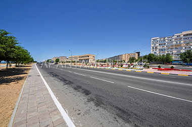 Aktau city in Kazakhstan