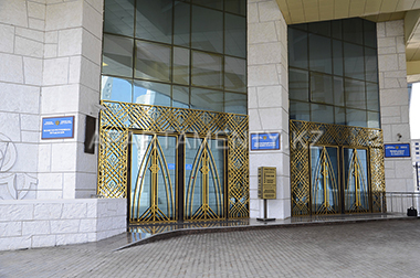 Entrance to the National museum, Astana