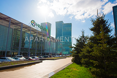 """Keruen"" center and ""Nothern Lights"" apartments, Astana"
