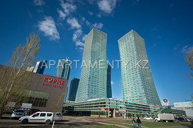 "Exhibition center ""Korme"" and ""Nothern Lights"" apartments in Astana"