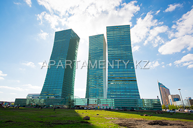 """Nothern Lights"" apartments in Green Water boulevard, Astana"
