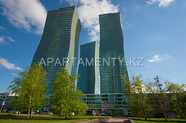 """Nothern Lights"" in Astana, aparthotel in Nurzhol boulevard"