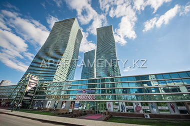 "Restaurants. cafes. shops in ""Nothern Lights"" apartments, astana"