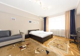 Элитная однокомнатная квартира посуточно, Алматы
