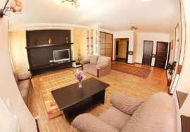 Two-bedroom apartment LUX, Almaty