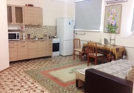 Двухкомнатная квартира посуточно у моря в Актау