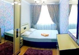 Двухкомнатная квартира посуточно, Шымкент