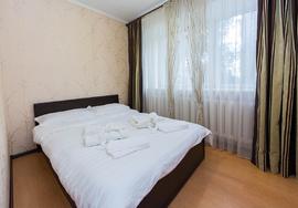 Двухкомнатная квартира посуточно в Караганде