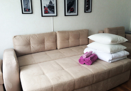 One room apartment, Almaty