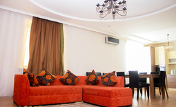 Luxury two-bedroom apartment, Uralsk