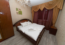 Luxurious apartment, Almaty, Dostyk Plaza