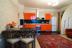 Luxurious two-bedroom apartment near the Dostyk Pl