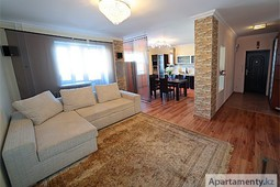 2-room apartment  daily rent in Astana