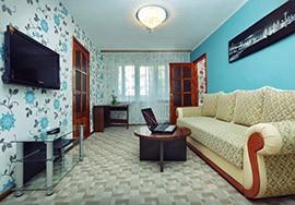 3-комнатная посуточно полулюкс в центре